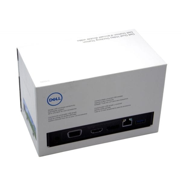 Dell D1000 Dual Video Docking Station 2